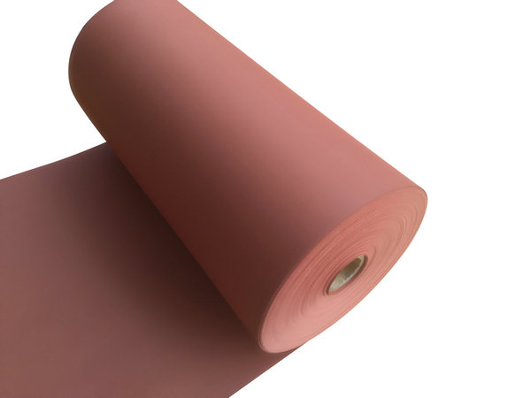 brick red vulcanized fiber